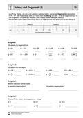 Mathematik, Zahlen & Operationen, Arithmetik, rationale Zahlen, negative Zahlen