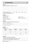 Mathematik, Zahlen & Operationen, Arithmetik, rationale Zahlen, negative Zahlen, Zahlenstrahl, größenvergleich