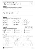 Mathematik, Zahlen & Operationen, Potenzen, Kopfrechnen, Potenzgesetze, potenzieren