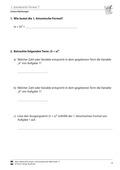 Mathematik, Funktion, Zahlen & Operationen, lineare Gleichungen, Algebra, binomische Formel