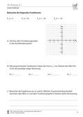 Mathematik, Funktion, funktionaler Zusammenhang, Raum & Form, lineare Funktionen, Steigung, Koordinatensystem