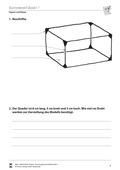 Mathematik, Geometrie, Raum & Form, Körperberechnung, Quader, umfang