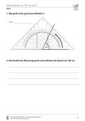 Mathematik, Geometrie, Winkel, winkelmesser, Geodreieck