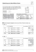 Mathematik, Zahlen & Operationen, halbschriftliches rechnen, rechenregeln, halbschriftliche division