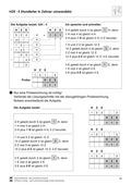 Mathematik, Zahlen & Operationen, schriftliches Rechnen, Stellenwertsystem, zahlenraum bis 100, schriftliches dividieren