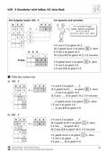 Mathematik, Zahlen & Operationen, schriftliches Rechnen, nichtteilbare hunderter, schriftliches dividieren