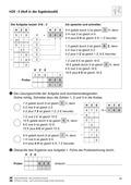 Mathematik, Zahlen & Operationen, schriftliches Rechnen, Stellenwertsystem, schriftliches dividieren, sachaufgaben