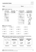 Mathematik, Zahlen & Operationen, schriftliches Rechnen, schriftliches dividieren