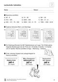Mathematik_neu, Primarstufe, Zahlen und Operationen, Grundrechenarten, Rechenoperationen, Schriftliche Rechenverfahren und Überschlag, Rechenstrategien, Rechenwege, Zur Subtraktion