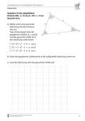 Mathematik, Geometrie, funktionaler Zusammenhang, Trigonometrie, Kosinussatz, Kosinus, dreiecke