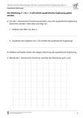 Mathematik, Funktion, Zahlen & Operationen, quadratische Gleichung, Algebra, quadratische ergänzung