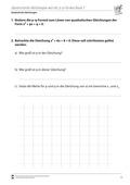 Mathematik, Funktion, Zahlen & Operationen, quadratische Gleichung, Algebra, p-q Formel