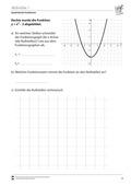 Mathematik, Funktion, funktionaler Zusammenhang, quadratische Funktionen, Parabeln, Analysis, Nullstellen
