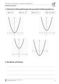 Mathematik, Funktion, Zahlen & Operationen, Parabeln, quadratische Funktionen, quadratische Gleichung, Algebra, parabelverschiebung