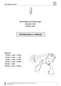 Mathematik, Größen & Messen, Größeneinheiten, Zeit, umrechnen von Einheiten, umwandeln, Zeiteinheiten, sachrechnen