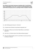 Mathematik, funktionaler Zusammenhang, Zuordnungen, informationen aus graphen, zuordnungsgraphen