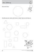 Mathematik_neu, Primarstufe, Raum und Form, Geometrische Muster, Ebene Figuren, Kreis, Pränumerik