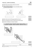 Biologie, Biologie_neu, Bau und Funktion von Biosystemen, Sekundarstufe I, Skelett, Humanbiologie, Der Mensch, Körperbau, Anatomie, Gelenke, Das Skelett, Zusammenspiel von Knochen und Muskeln, menschlicher Körper, Skelett, Anatomie, Gelenke, Gelenkarten, Funktion der Gelenke, Kugelgelenk, Bewegung, Muskeln, Schultergelenk, Ellenbogen, Streckmuskel, Beugemuskel, Sehnen
