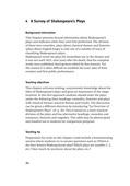 Englisch, Literatur, Themen, Kompetenzen, Literaturvermittlung, Shakespeare, Landeskunde, Kommunikative Fertigkeiten, Methodische Kompetenzen, Arbeit mit dramatischen Texten, Arbeit mit lyrischen Texten, Städte und Sehenswürdigkeiten, Schreiben / writing, Textproduktion, London, Theatre, Writing