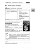 Chemie, Allgemeine Chemie, Kristalle, Kristallisation, Kristallgitter