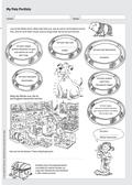 Englisch, Themen, Alltag, Haustiere, Pets, portfolio