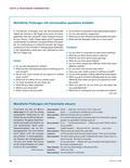 Englisch, Kompetenzen, Themen, Kommunikative Fertigkeiten, Methodische Kompetenzen, Alltag, Conversation, Verfügbarkeit sprachliche Mittel, Interaktion, Einkaufen, Shopping, mündliche Prüfung, flow chart, fashion