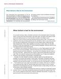 Englisch, Themen, Umwelt, Environment, Umweltschutz, Prüfungsaufgaben, reading comprehension, sachtext, biofuel