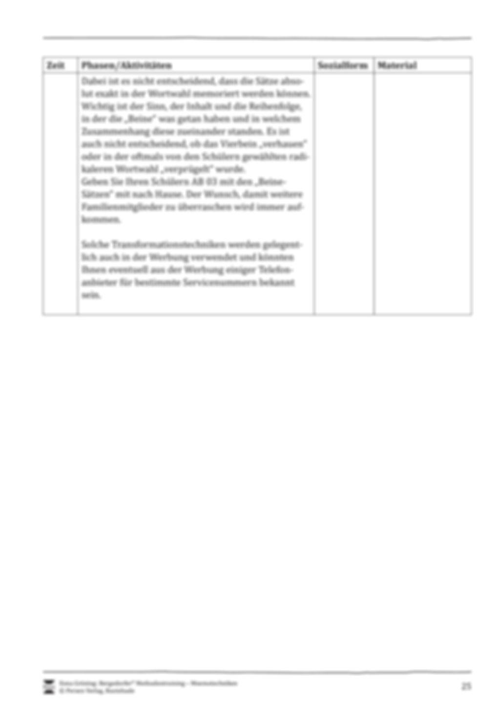 Unterrichtseinheit 2: Bildhafte Assoziation/Transformation Preview 5