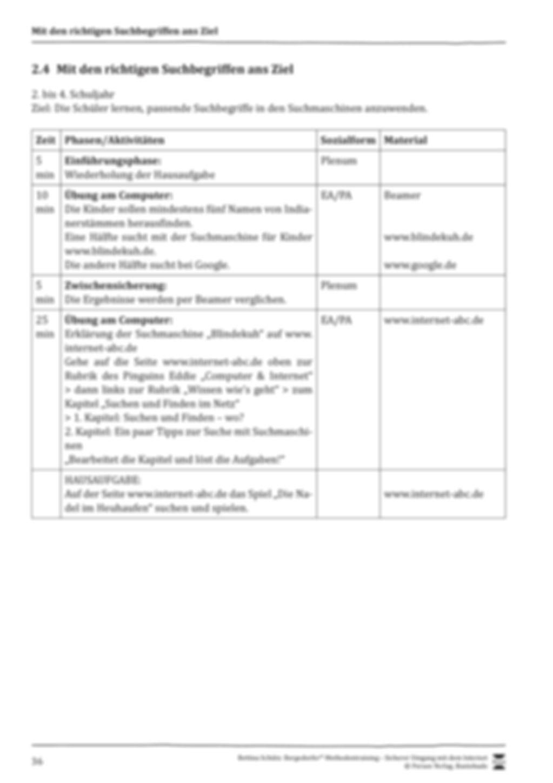 Effektive Suchbegriffe im Internet + Verlaufsplanung Preview 2