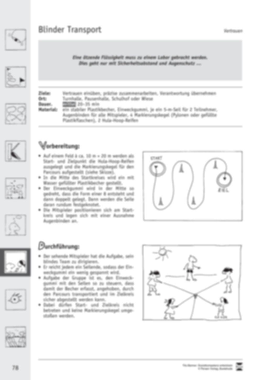 Soft Skills: Spiele zur Förderung des Vertrauens innerhalb der Gruppe Preview 12