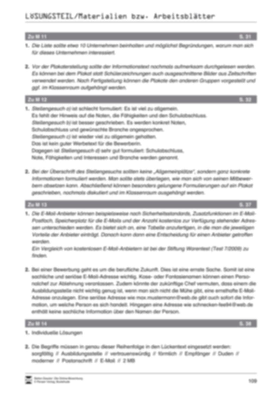 Der Online-Stellenmarkt + Lehrerhinweise Preview 12