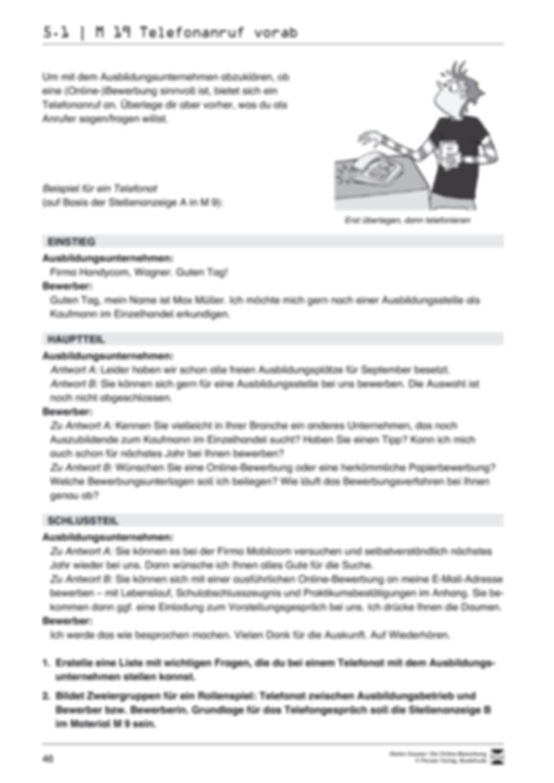 Eine ausführliche Onlinebewerbung schreiben + Lehrerhinweise Preview 4