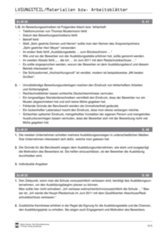 Eine ausführliche Onlinebewerbung schreiben + Lehrerhinweise Preview 23