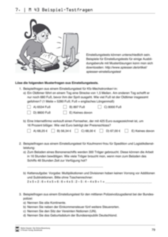 Alles Wichtige zum Einstellungstest + Lehrerhinweise Preview 5