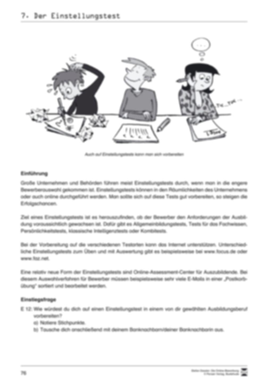 Alles Wichtige zum Einstellungstest + Lehrerhinweise Preview 2