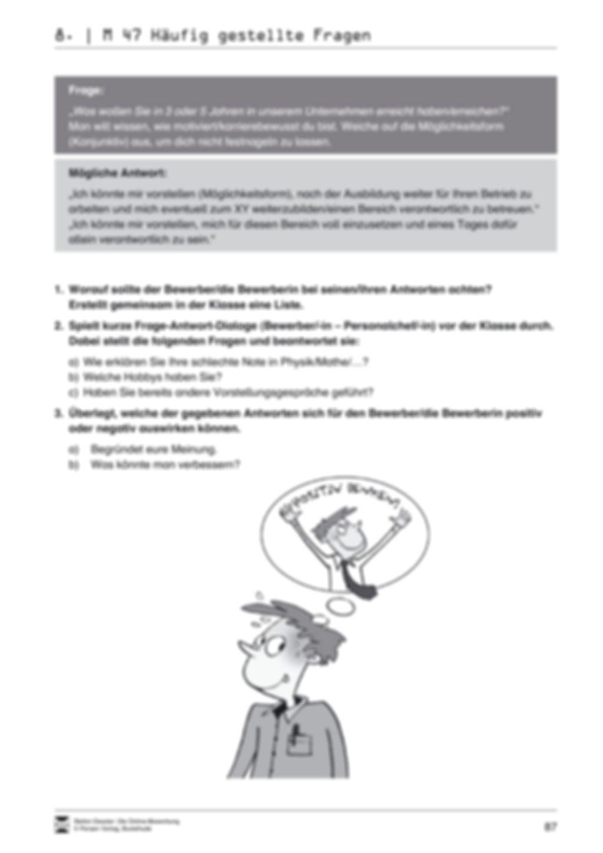 Alles Wichtige zum Vorstellungsgespräch + Lehrerhinweise Preview 7