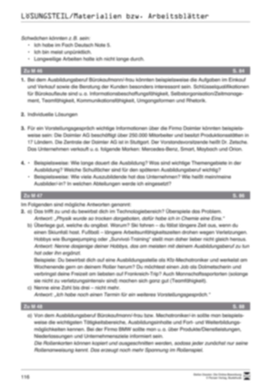 Alles Wichtige zum Vorstellungsgespräch + Lehrerhinweise Preview 10