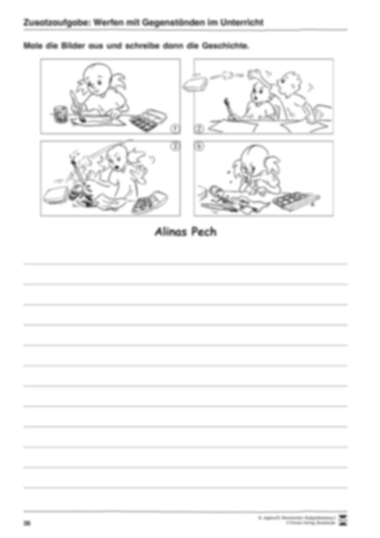 Werfen mit Gegenständen im Unterricht Preview 2