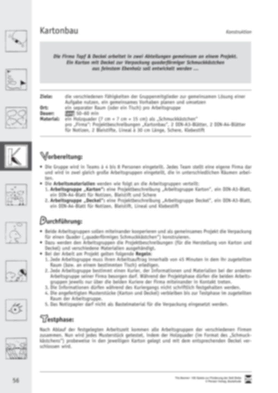 Soft Skills: Konstruktionsspiele zur Förderung des Zusammenhalts innerhalb der Gruppe Preview 16