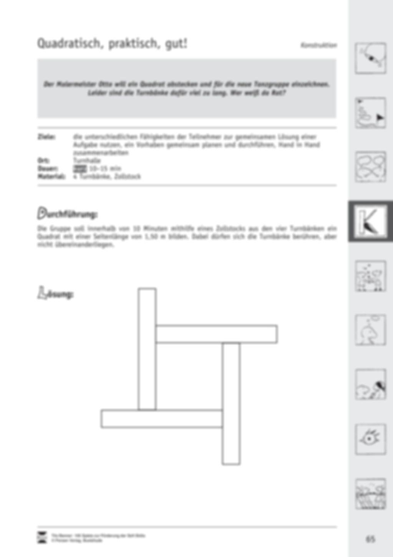 Soft Skills: Konstruktionsspiele zur Förderung des Zusammenhalts innerhalb der Gruppe Preview 25