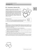 Englisch, Kompetenzen, Kommunikative Fertigkeiten, Sprechen / speaking, Presentation, valentine's day
