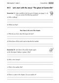 Englisch, Grammatik, Fragen / questions, Questions, novel, quiz, mind mapping, setting