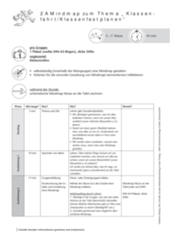 Methodenkompetenz: Mind-Map erstellen Preview 2