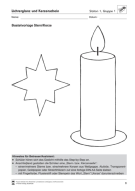 Stationen- bzw. Gruppenarbeit zum Thema Weihnachten + detaillierte Materialliste für die Stationen Preview 5