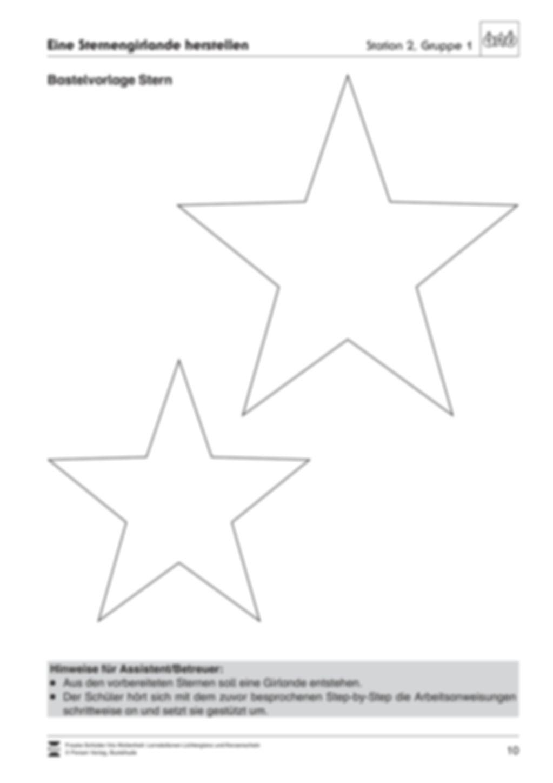 Stationen- bzw. Gruppenarbeit zum Thema Weihnachten + detaillierte Materialliste für die Stationen Preview 9