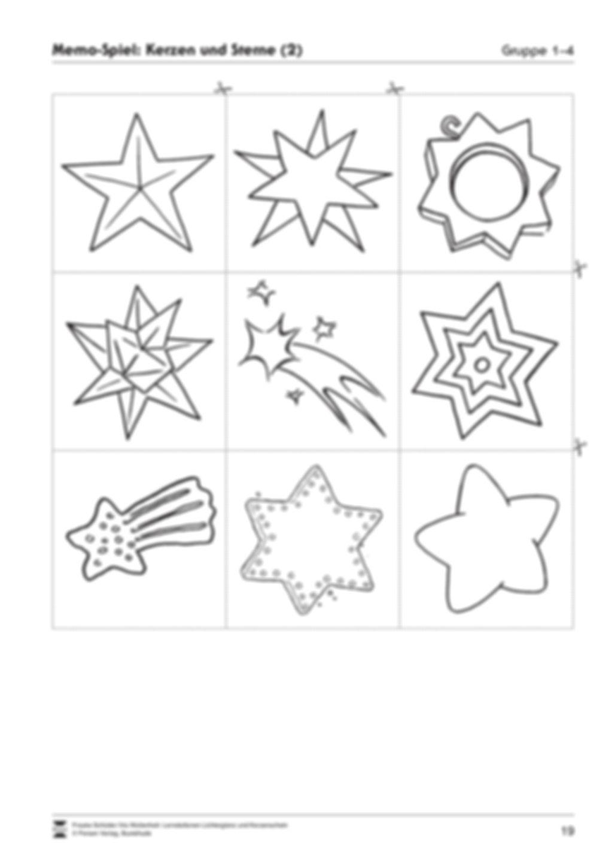 Stationen- bzw. Gruppenarbeit zum Thema Weihnachten + detaillierte Materialliste für die Stationen Preview 18