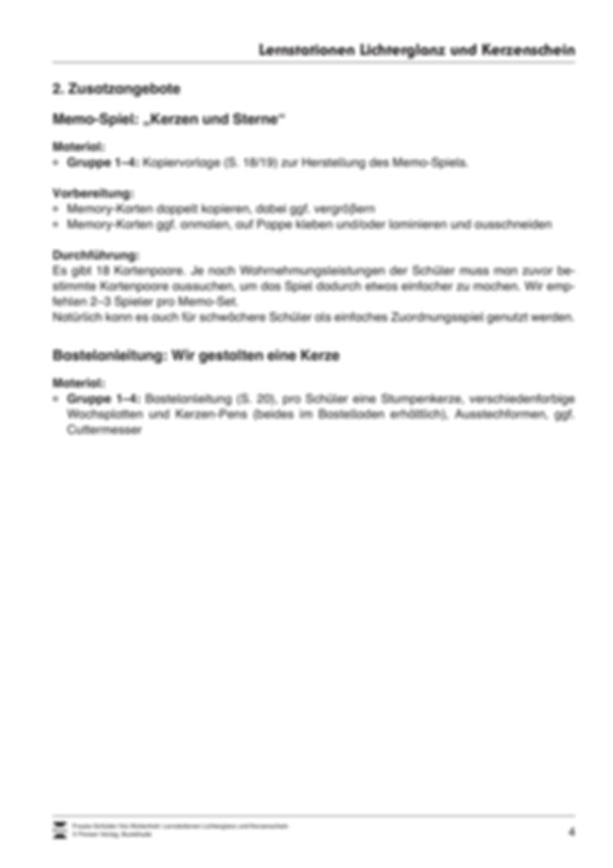 Stationen- bzw. Gruppenarbeit zum Thema Weihnachten + detaillierte Materialliste für die Stationen Preview 3