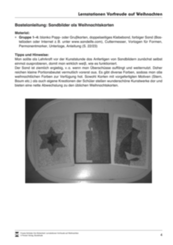Stations-/Gruppenarbeit zum Thema Weihnachten mit verschiedenen Fächerschwerpunkten Preview 4