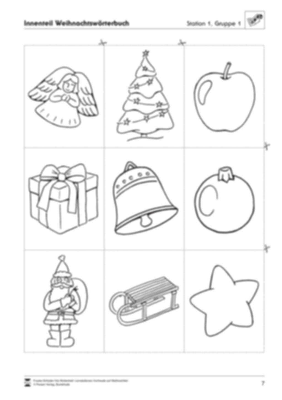 Stations-/Gruppenarbeit zum Thema Weihnachten mit verschiedenen Fächerschwerpunkten Preview 7