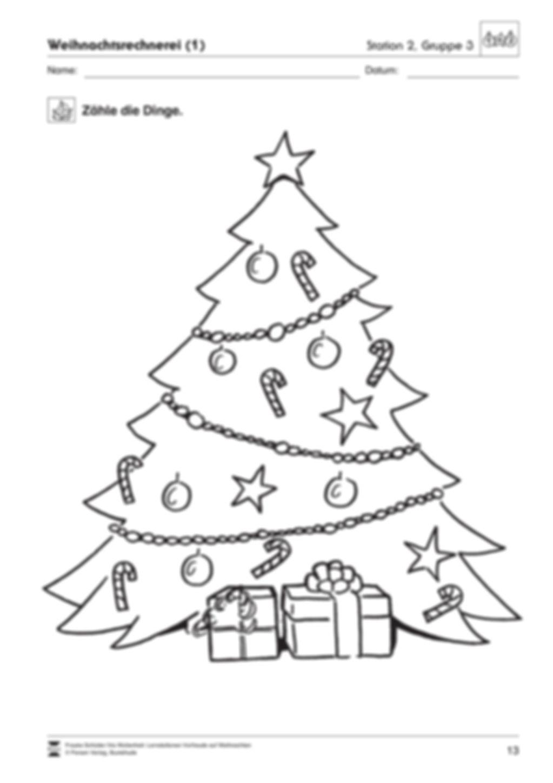 Stations-/Gruppenarbeit zum Thema Weihnachten mit verschiedenen Fächerschwerpunkten Preview 13